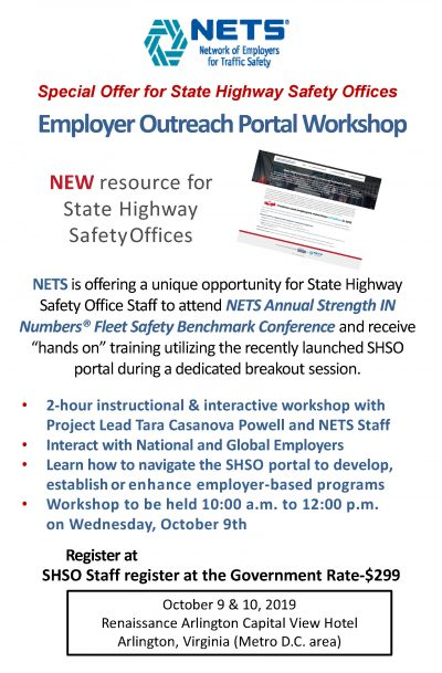 Special Offer to attend NETS Annual Strength IN Numbers® Fleet Safety Benchmark Conference
