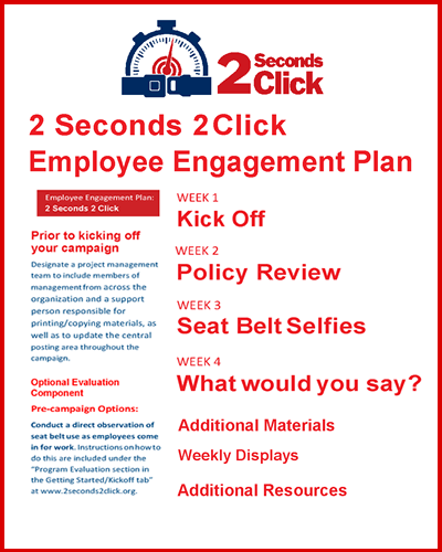 2 Seconds 2 Click Employee Engagement Plan