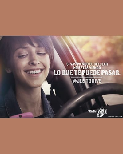 UDrive UText UPay Poster in Spanish