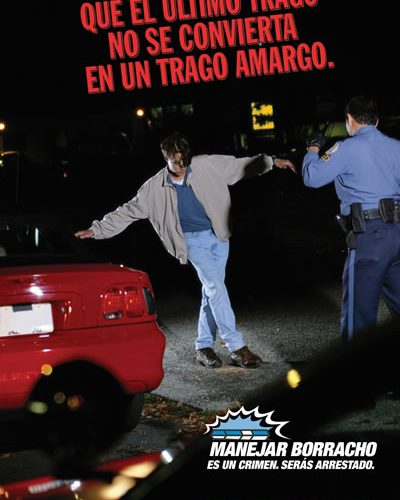 Checkpoint Peak Enforcement Poster in Spanish